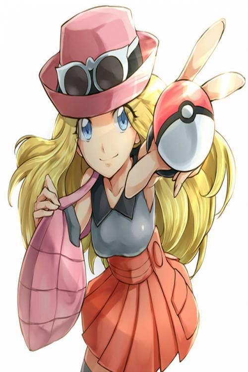 Pokemon xy Serena by Serena218 on DeviantArt
