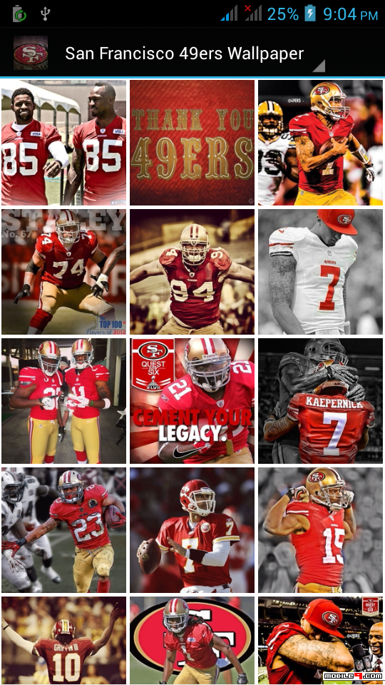 Download San Francisco 49ers Wallpaper Android Apps Apk 4300264