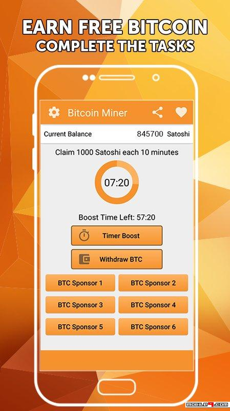 bitcoin android miner app)